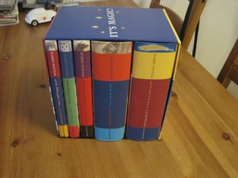Harry Potter Boxed Set England 5 St PERFEKT SE BILDER