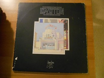 LED-ZEPPELIN: THE SOUNDTRACK FROM THE FILM. DUBBEL-LP.