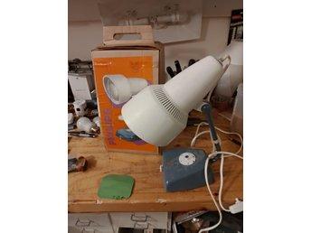 Vintage Philips sollampa. Behöver ny glödlampa.