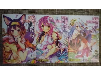 No Game No Life, vol. 1-3