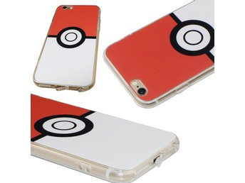 iPhone 6 Plus   6S Plus silikon Pokemon Go Pokemon boll skal mobilskal TPU 8ab97d0390acc