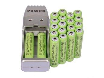 20X AAA 3A 1800mah1.2V NiMH rechargeable battery USB Charger - Kowloon Bay - 20X AAA 3A 1800mah1.2V NiMH rechargeable battery USB Charger - Kowloon Bay