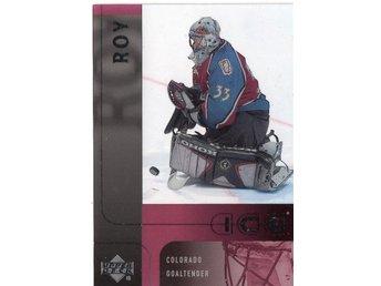 2001-02 Upper Deck Ice #8 Patrick Roy - Kalmar / Sweden - 2001-02 Upper Deck Ice #8 Patrick Roy - Kalmar / Sweden