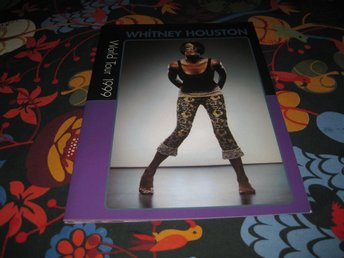 ONCE IN A LIFETIME:: WHITNEY HOUSTON--WORLD TOUR 1999 PROGRAM