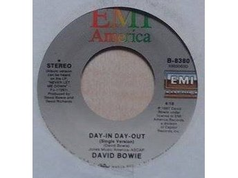 David Bowie title* Day-In Day-Out* Pop Rock, Synth-pop US 7""