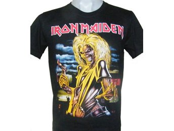 T-SHIRT: IRON MAIDEN  (Size L)