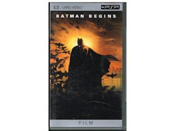 Batman Begins (UMD Film) - Sony PSP