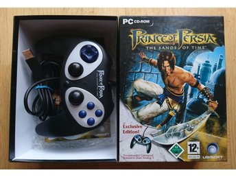 Prince of Persia: The Sands of Time Exclusive Edition (PC, 2003) Samlar edition