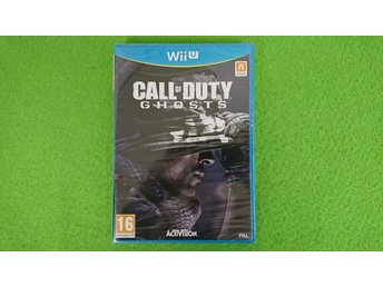 Call of Duty Ghosts NYTT INPLASTAT Nintendo WiiU wii u