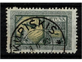 Litauen 1922 Air Mail 10 A