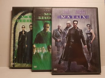 Matrix Trilogin   Dvd