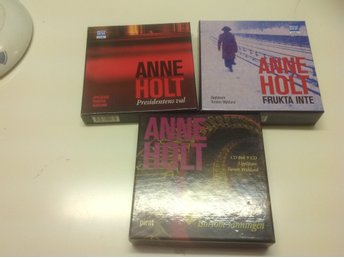 3cd böcker av Anne holt