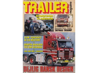 Trailer 1988-3 Scania 142 M.Lastbil Chevrolet 1939.Rally