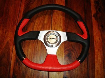 MPH Sport Steering Wheel High Quality Italy Style 350 mm P,V.C Leather
