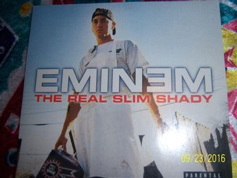 Eminem - The real Slim Shady - CD singel