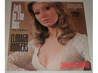 Clodagh Rodgers SINGELOMSLAG Jack in the box 1971