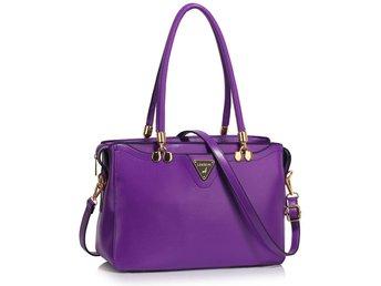 Women's Shoulder Handbag Ladies Faux Leather Fashion Designer Stora Grab Bags - Bolton - Women's Shoulder Handbag Ladies Faux Leather Fashion Designer Stora Grab Bags - Bolton