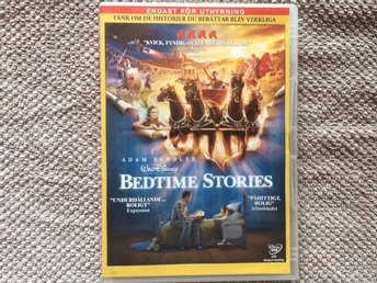 DVD Bedtime Stories Från 1995 Disney
