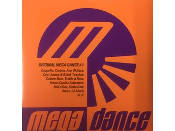 Various - Original Mega Dance # 1 (CD, Comp)