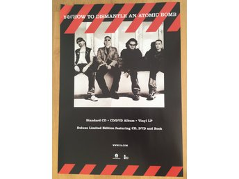 Poster U2 How To Dismaltle An Atomic Bomb
