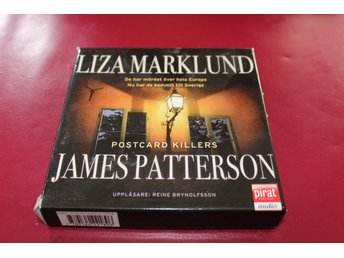 CD-bok: Postcard killers - Liza Marklund / James Patterson