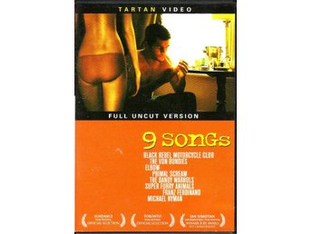 9 Songs / Full Uncut Tartan Video DVD (USA original)