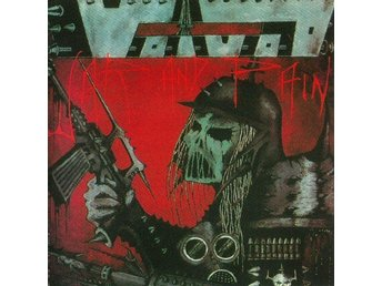 Voivod -War and pain LP red/black marbled w/poster and bonus
