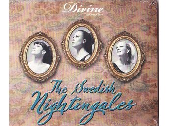 "Divine the opera trio ""The swedish Nightingale"" helt ny obruten förpackning"