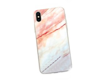 iPhone 7 8 Plus Mobilskal Färgad Marmor Marble