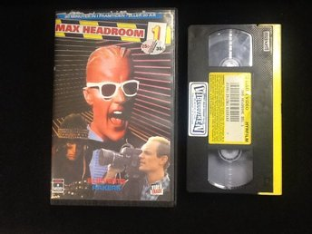 Max Headroom 1- 3  / Esselte / f.d. Hyrfilm / ovanlig / so 80's