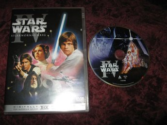 STAR WARS STJÄRNORNAS KRIG EPISOD IV (HARRISON FORD,MARK HAMILL) DVD