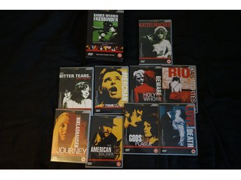 Rainer Werner Fassbinder Box Commemorative Collection 69-72 Volume 1