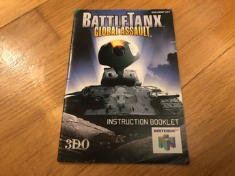 BattleTanx - Nintendo 64 manual