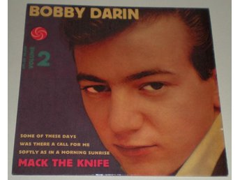 Bobby Darin OMSLAG EP Mack the knife 1959