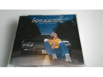 Kazzer - Pedal To The Metal, CD, Single, Demonstration