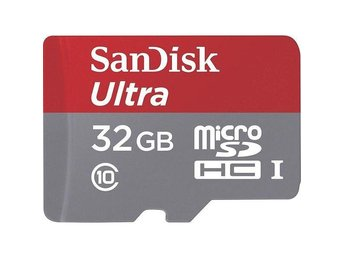 SanDisk Mobile Ultra microSDHC Class 10 UHS-I 80MB/s 32GB