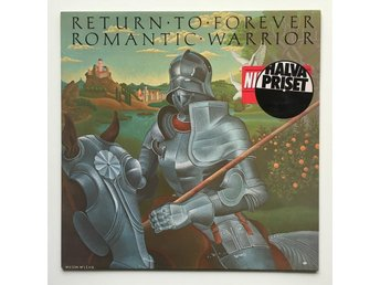 RETURN TO FOREVER Romantic Warrior LP GER 1984
