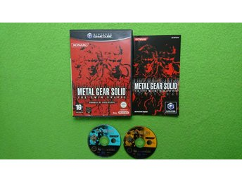 Metal Gear Solid The Twin Snakes KOMPLETT GameCube Game Cube