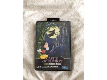 CASTLE OF ILLUSION (komplett) till Sega Mega Drive