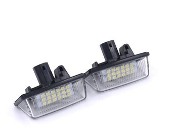 Toyota Corolla Starlet Previa Crown Wish Led skyltbelysning