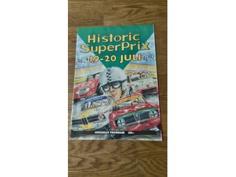 Historic SuperPrix 1997 program