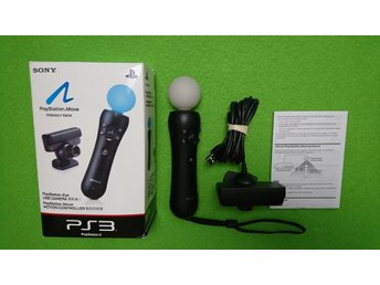 Playstation Move + Kamera KOMPLETT I BOX PS3 Playstation3 Playstation 3
