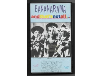 "VHS Bananarama ""and thats not all"" musikvideor"