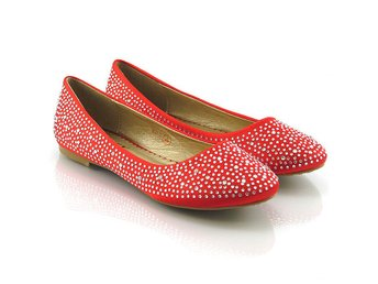 Womens Brial Diamante Ladies Sparkly Slip On Bridesmaid Shoes Pumps