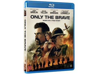 Only the brave- Ny- Inplastad- Blu-ray