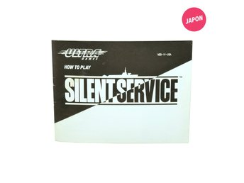 Silent Service  (Manual / USA / NES)