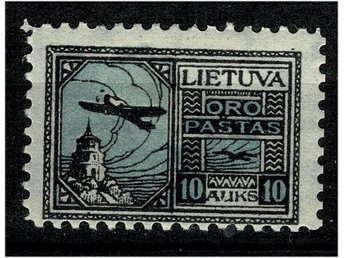 Litauen 1921 Air Mail 5 A