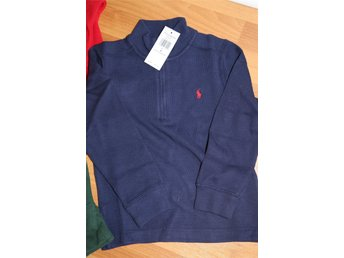 Ny RALPH LAUREN French-Rib Pullover USA Medium postas från E-tuna