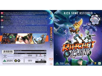 Ratchet & Clank / The Movie - Blue Ray Disc - NYTT INPLASTAD!!