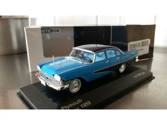 Plymouth Savoy 1959 2-färg  limited 1:43, MINT!